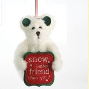 Other - Boyds lil frosty ornament